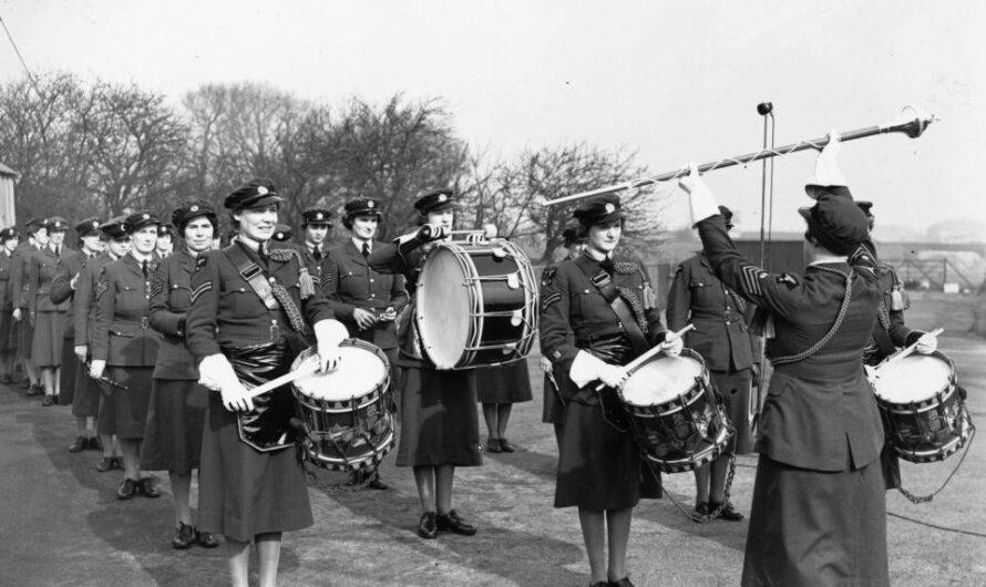 Britische Air Force-Frauen rocken nicht mehr