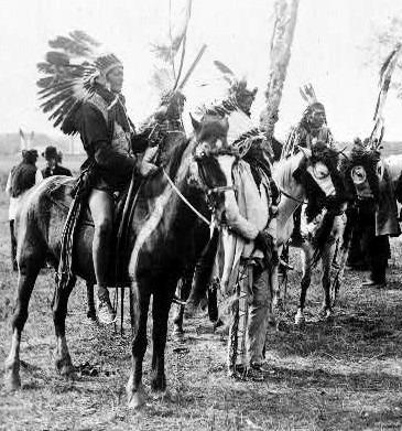 »Sioux im Saal«