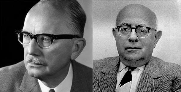 In der Arena (I): Arnold Gehlen vs. Theodor W. Adorno