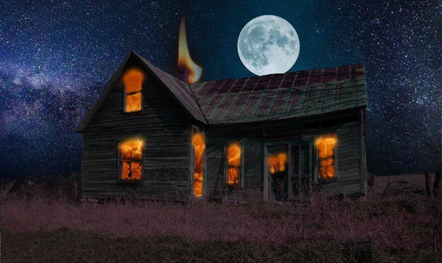 Das Haus steht in Flammen – nur seit wann?